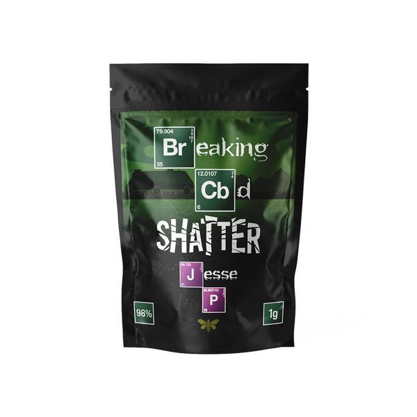 Breaking CBD 98% CBD Shatter - 1g
