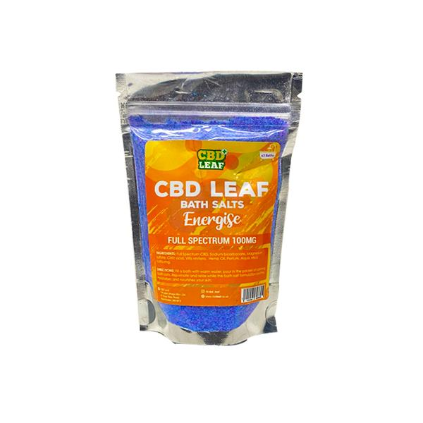 CBD Bath Salts - Energise