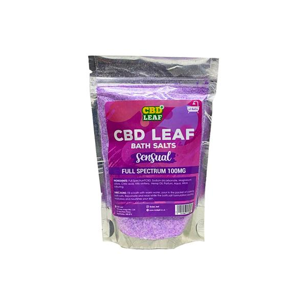 CBD Bath Salts - Sensual